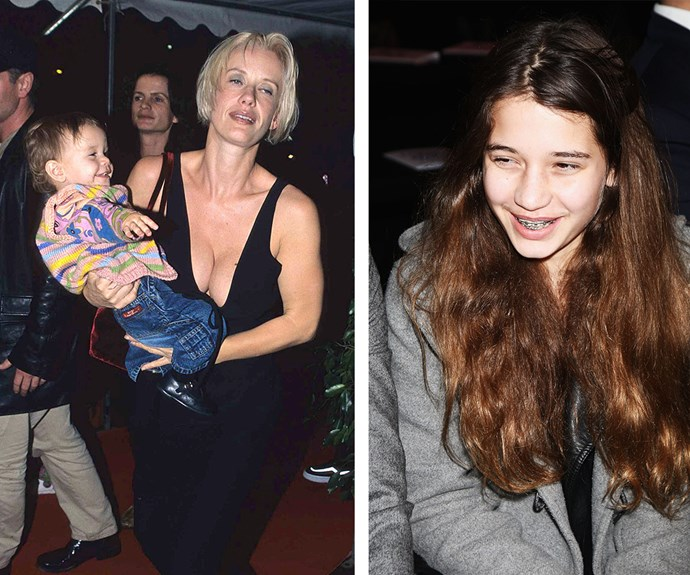 We have no doubt Paula and Michael would be so proud of their daughter. (L-R) The television presenter carries her daughter to an event and in 2010, Tiger sits front row at Naomi Campbell's Fashion For Relief.