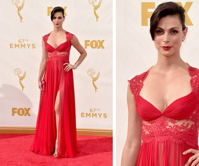 Morena Baccarin is sizzling!