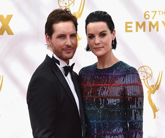 *Twilight* star Peter Facinelli rocked a dapper tux while his fiancee, Jaimie Alexander opted for a shimmery metallic gown.