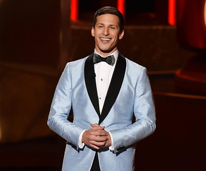Andy Samberg took on the role as the host of the 67th Annual Primetime Emmy Awards.