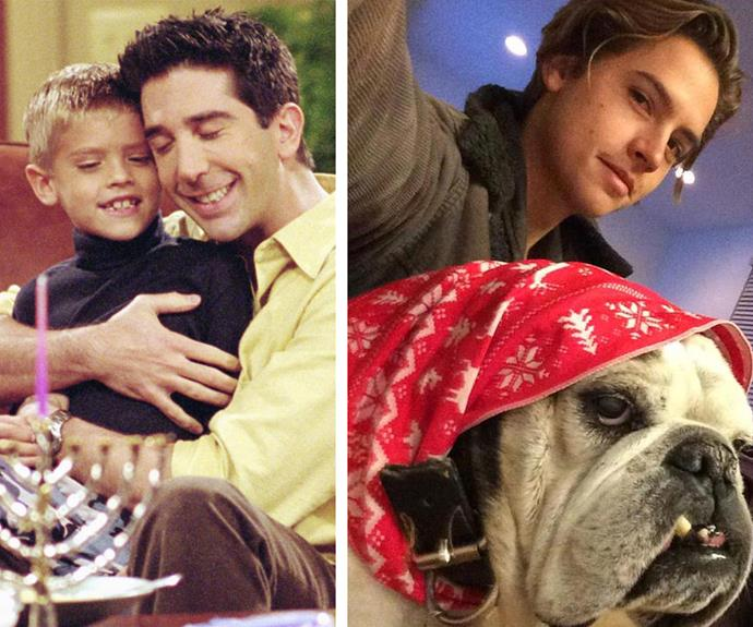 Who could ever forget Ben Gellar? The adorable son-of-Ross was played by Cole Sprouse. The 22-year-old in now a graduate with honours (after-all he is Ross' son!) from New York University.
