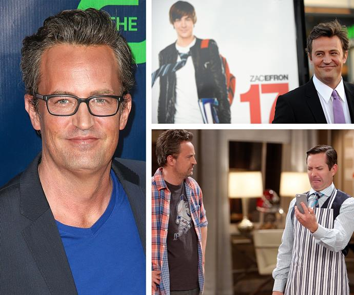 Could he be on any more TV shows!? Matthew Perry has held onto his dry wit since his days as Chandler Bing. Starring in a series of series that never quite lived up to his potential, the actor has found a home in the new sitcom, *The Odd Couple*, which the 46-year-old co-wrote.