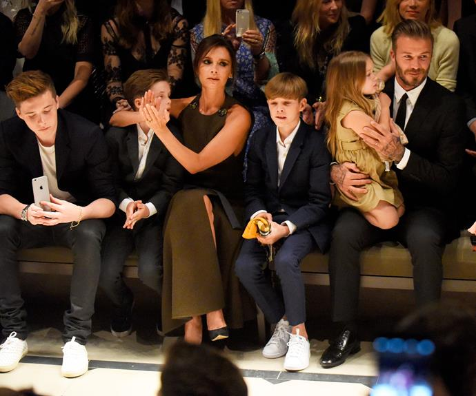 A new study has revealed that the Beckham brood are worth over $1 billion AUD!