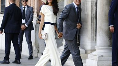 The Clooneys, in pictures! Two years of Amal and George