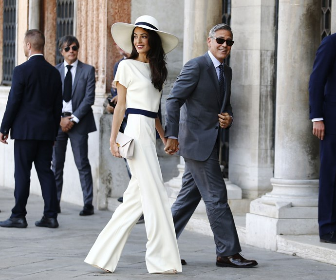 A year after Amal and George met in Europe through mutual friends, they returned to tie the knot on September 27, 2014.