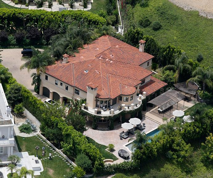 Coincidence or curse? The cursed mansion in Tarzana, California, was the former home to Khloe Kardashian and Lamar Odom - the pair filed for divorce in December, 2013. And just this weekend, the mansion's latest residents Kaley Cuoco and Ryan Sweeting announced their split.