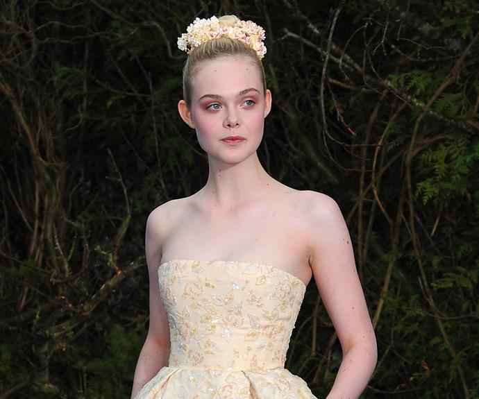 If you're ever worried about looking good in cream then let Elle Fanning be your style inspo! She looks next-level good.