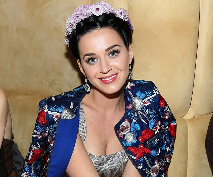 Katy Perry is picture perfect.