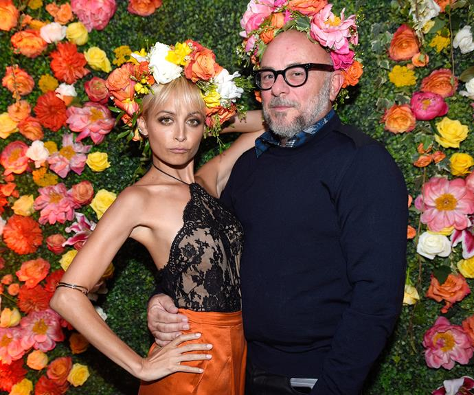 It's a simple life with fresh flowers and killer pout for Nicole Richie.