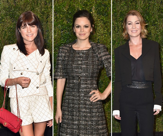 Selma Blair, Rachel Bilson and Ellen Pompeo were the other mums who looked fabulous at the charity event.