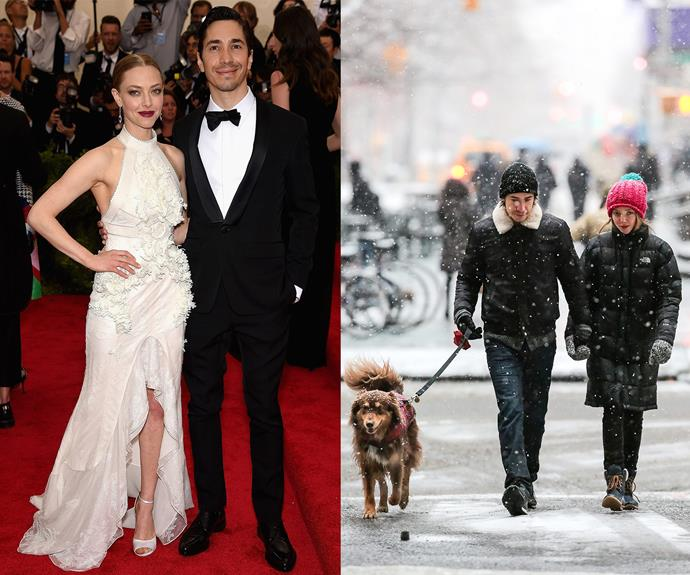 """After more than two years of dating, Amanda Seyfried and Justin Long have split. An insider told *US Weekly*: """"It happened a few weeks ago. He's really heartbroken."""" And so are we! [Amanda's dog, Finn,](http://www.womansday.com.au/entertainment/viral/so-in-ruff-hollywoods-favourite-fluffy-friends-12713) will have to say goodbye to long walks in the snow with Justin."""