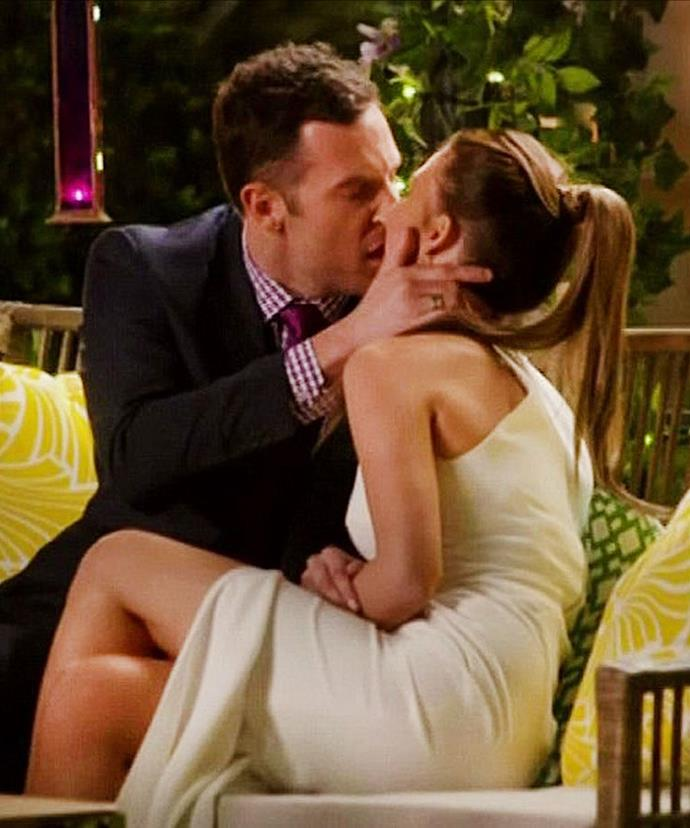Pucker up: The kiss that got the entire nation talking!