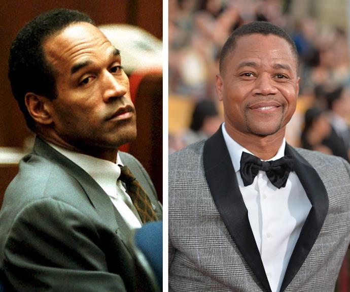 Oscar winner, Cuba Gooding. Jr will play OJ Simpson.