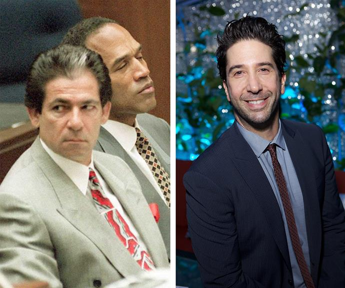 While David Schwimmer will star as OJ's defence attorney, Robert Kardashian.