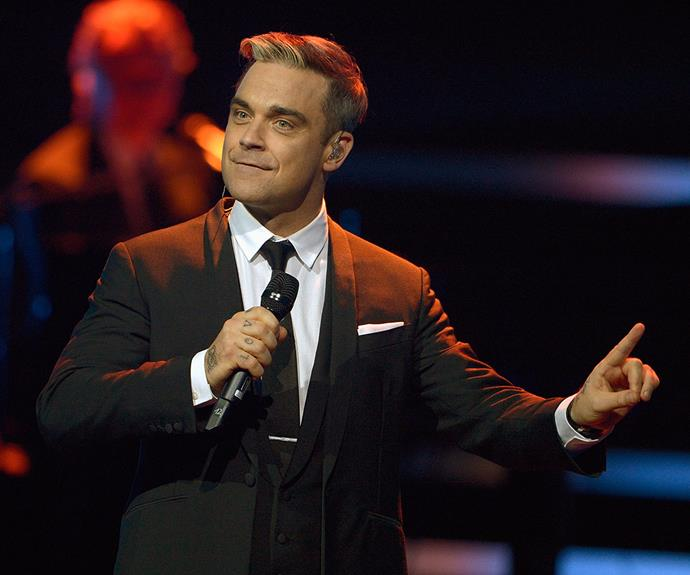 Watch this space! His home has long been the stage but Robbie Williams has revealed his next career move will be on the telly.