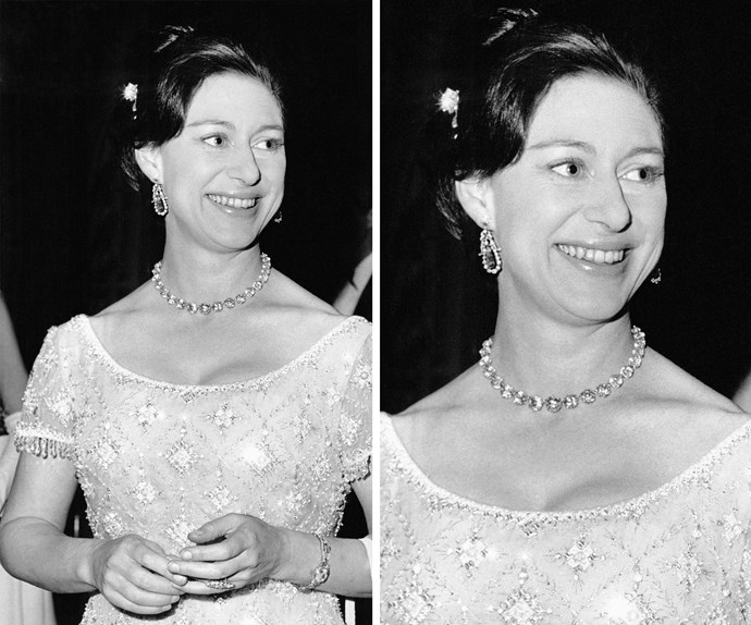 The stunning royal, pictured in 1966 attending the Balmain fashion show at Paris Fashion Week,was praised for her elegant style.