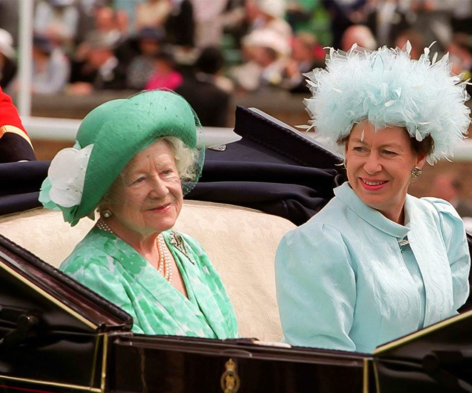 Seven weeks after her daughter's tragic passing, The Queen Mother died in her sleep.