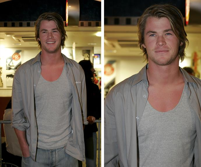 Even in 2006, when most of us were still wearing boot-cut jeans, circa his [*Home and Away*](http://www.womansday.com.au/entertainment/tv-soaps-books/steve-peacocke-returns-to-summer-bay-13584) days Chris Hemsworth was still a God among men.