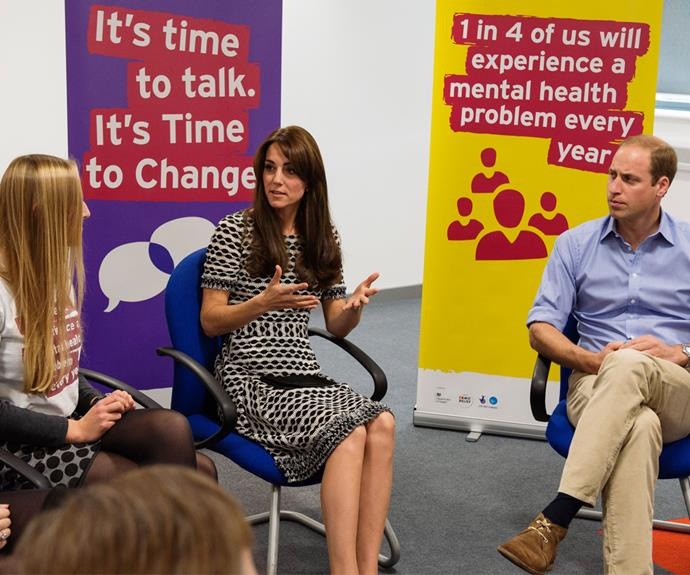 The Duke and Duchess of Cambridge are passionate about Mental Health.