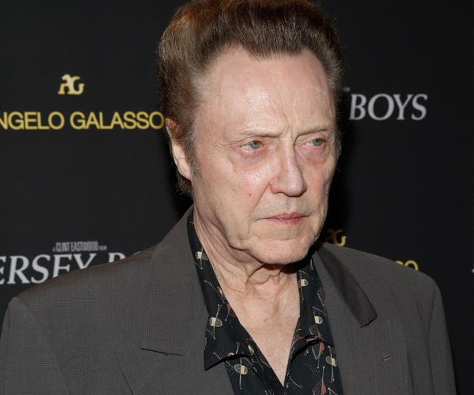 In a very fitting career choice, Christopher Walken started out as a lion tamer in the circus. Seriously.