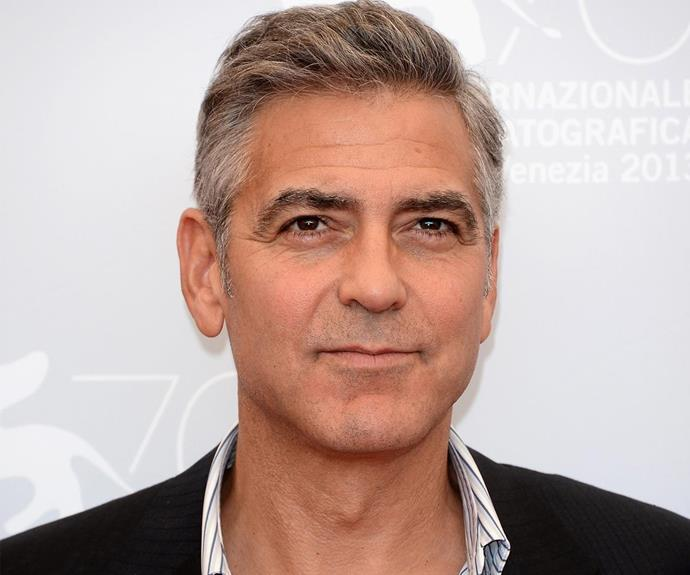 Before he became a professional heartthrob, George Clooney used to work as a door-to-door salesman. Uh, we'll take one of everything, George.