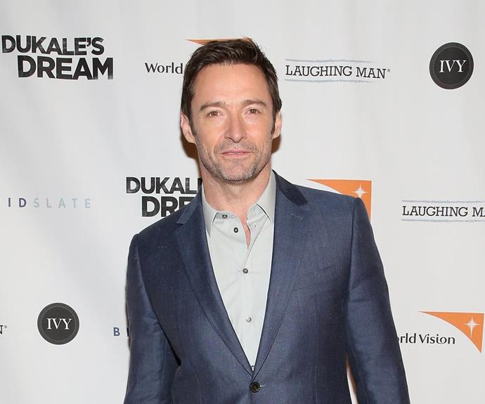 Uh, Mr Jackman? Before he was the hunk of our hearts, Hugh Jackman put food on the table by working as a P.E. teacher. He also sidelined as a party clown for children's birthday parties!