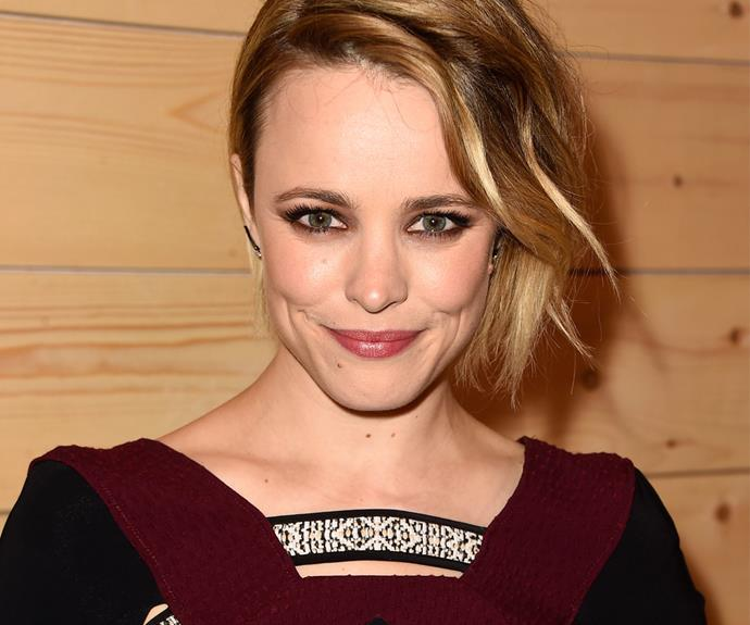 She may have worn pink on Wednesdays, but she wore red every other day! Rachel McAdams worked at a McDonalds for more than three years!