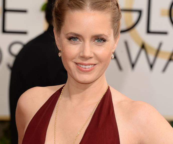 Wowsers. Amy Adams once made a living by working as a waitress and entertainer at American diner chain Hooters, which specialises in, er... buxom waitresses in tiny tops.