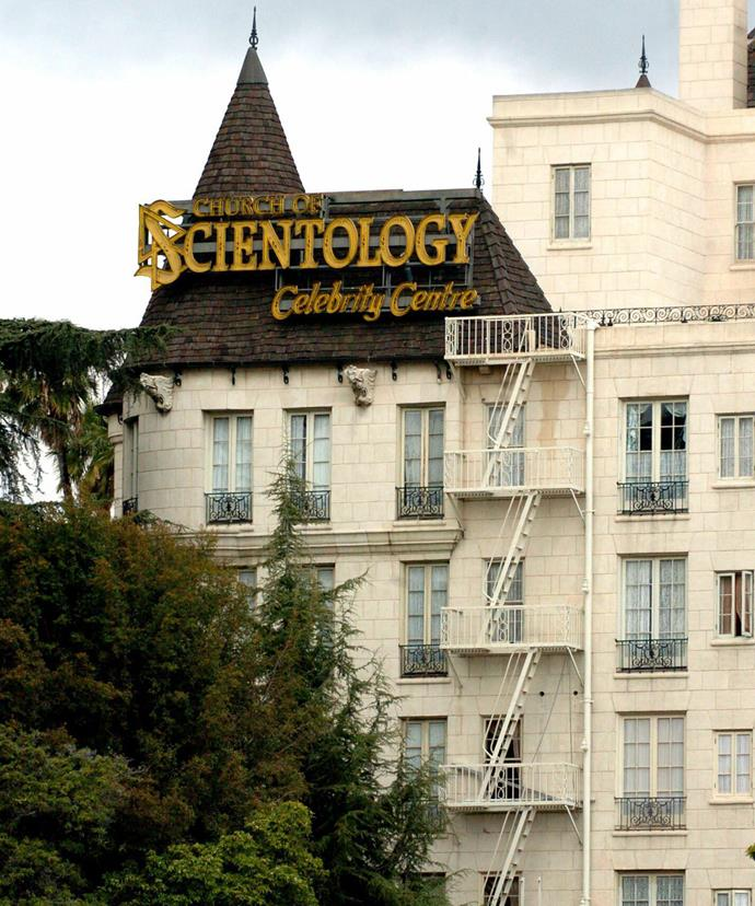 The Church of Scientology's Celebrity Centre in LA.
