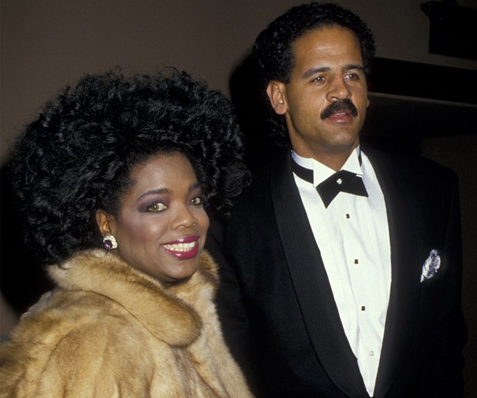 Holy '80s! Oprah didn't shy away from the hairspray in 1987!