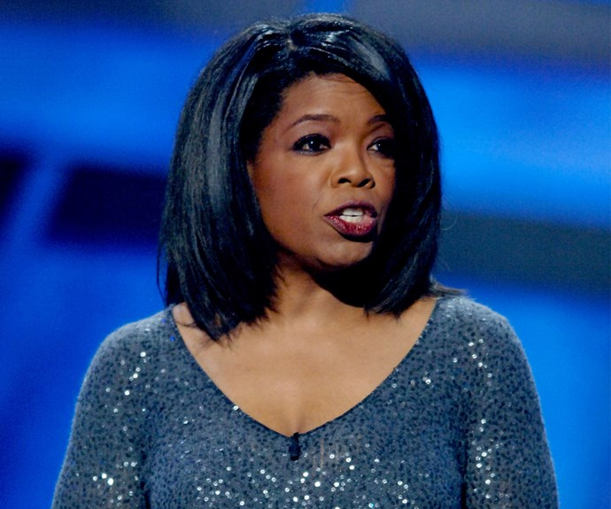 Oprah went sleek and straight at the 2005 Espys.