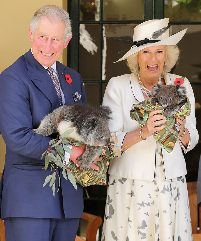 With ripper photos like this one taken when Charles and Camilla visited Australia in 2012 - we cannot wait for November!