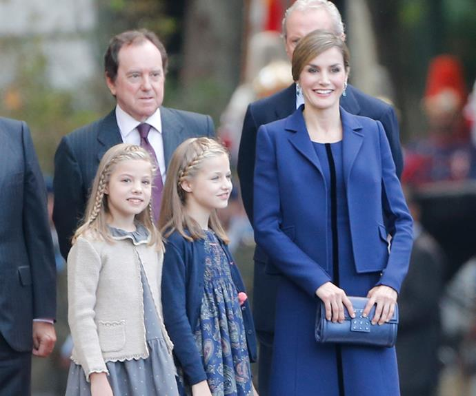 The Princesses are clearly taking fashion cues from their mum!