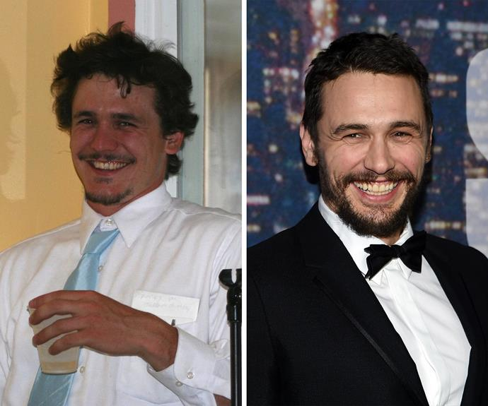 It's in the eyes! James Franco's doppelganger is pretty spot on.