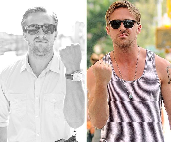 Anyone who is a spitting image of Ryan Gosling is OK by us.