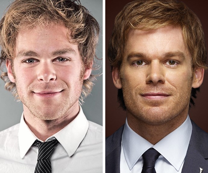 The resemblance between this man and Michael C. Hall from *Dexter* is almost creepy.