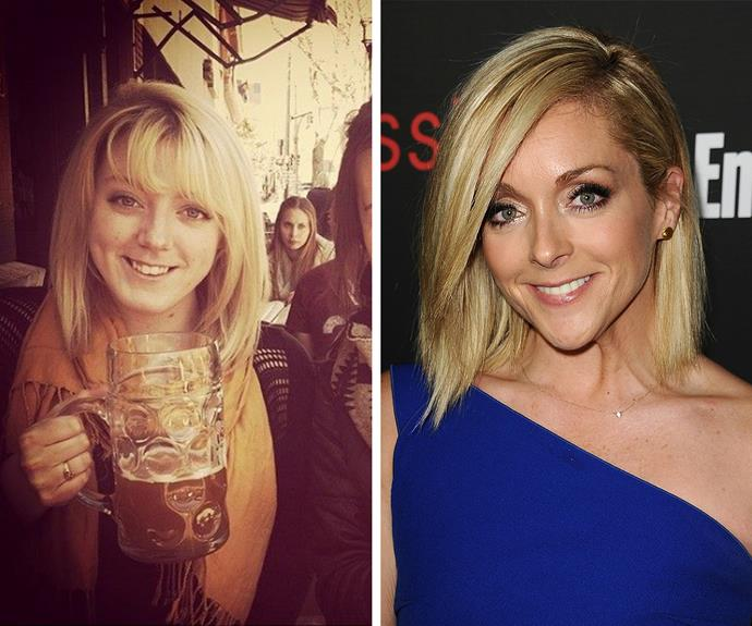 Wow! This girl looks just like Jane Krakowski.