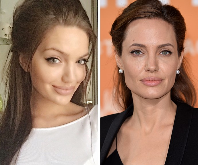 When you're born looking like Angelina Jolie, you've hit the genetic jackpot.
