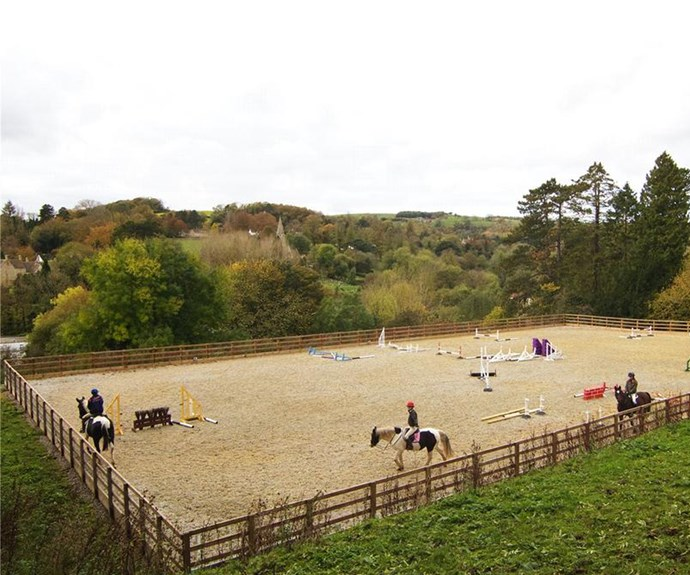Is horse-riding on the cards for Harper? The property comes with stables and a horse walking paddock.