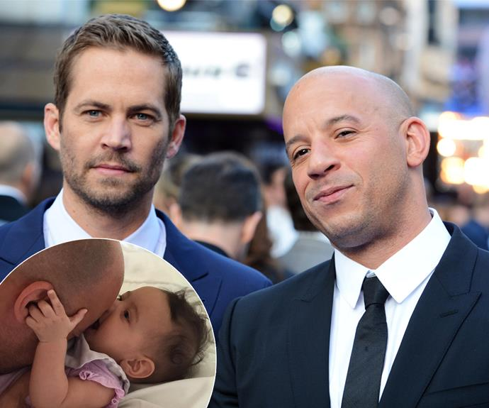 Vin Diesel named his daughter, who was born in March, after his late friend, Paul Walker.