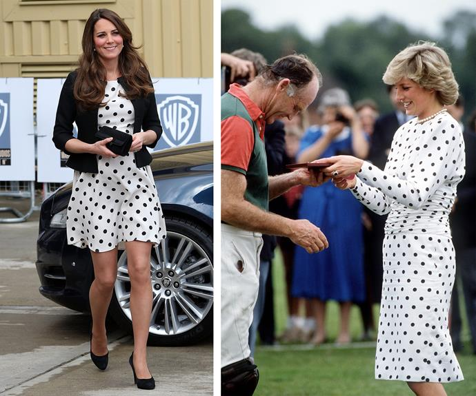 Connecting the dots to good style is easy for these royals.