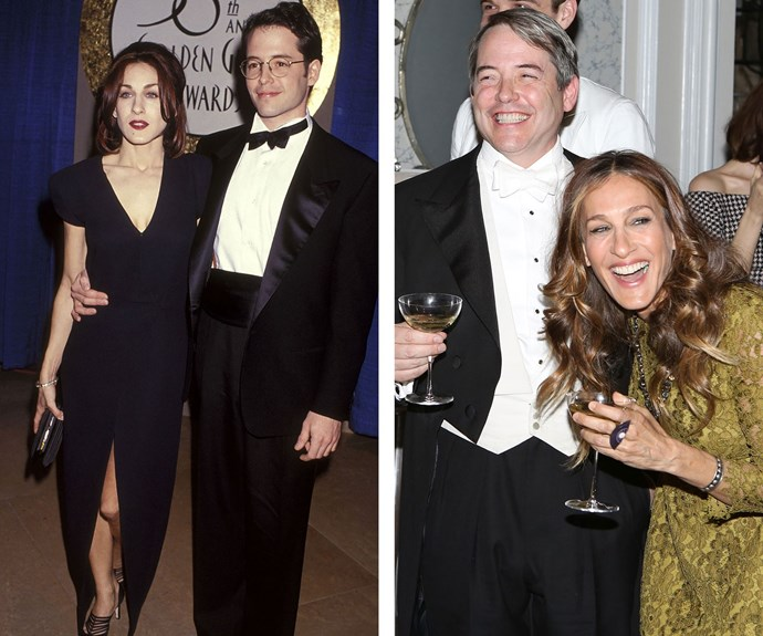 She's known for her style so even when Sarah Jessica Parker and Matthew Broderick made their red carpet debut as a couple in the early nineties they still looked a dream!