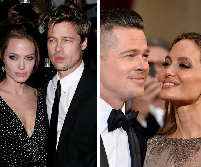 Their first red carpet together was way back in 2006 and almost a decade later there really isn't a couple we love to watch walk a red carpet more than Brad Pitt and Angelina Jolie.
