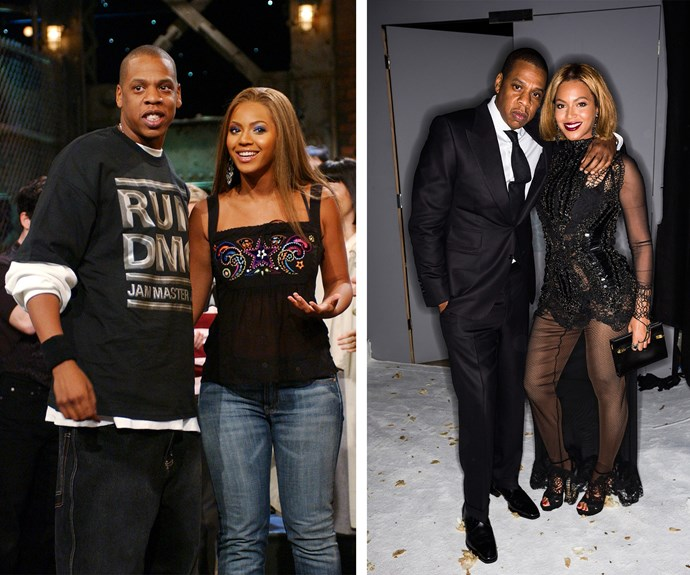 The year was 2002 and Beyonce and Jay-Z were yet to take their thrones as the reigning King and Queen of music when they first attended an event together.