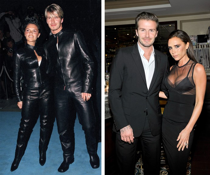 Even Posh and Becks had to start somewhere. Back in 1999 they loved their leather, but nowadays they opt for chic in Chanel.