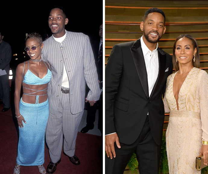 Never forget that Jada Pinkett-Smith and Will Smith first walked a red carpet together in 1995 wearing pin-stripes and a strappy crop top!