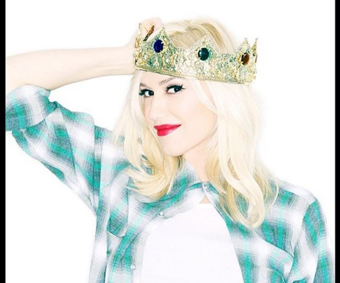 """Gwen Stefani made her Instagram debut a big one by announcing her pregnancy with her third baby boy. """"I was ready to hand over the crown. but I guess I am still queen of the house. #itsaboy #surroundedbyboys,"""" wrote the singer, who now has sons, Kingston, Zuma and Apollo."""