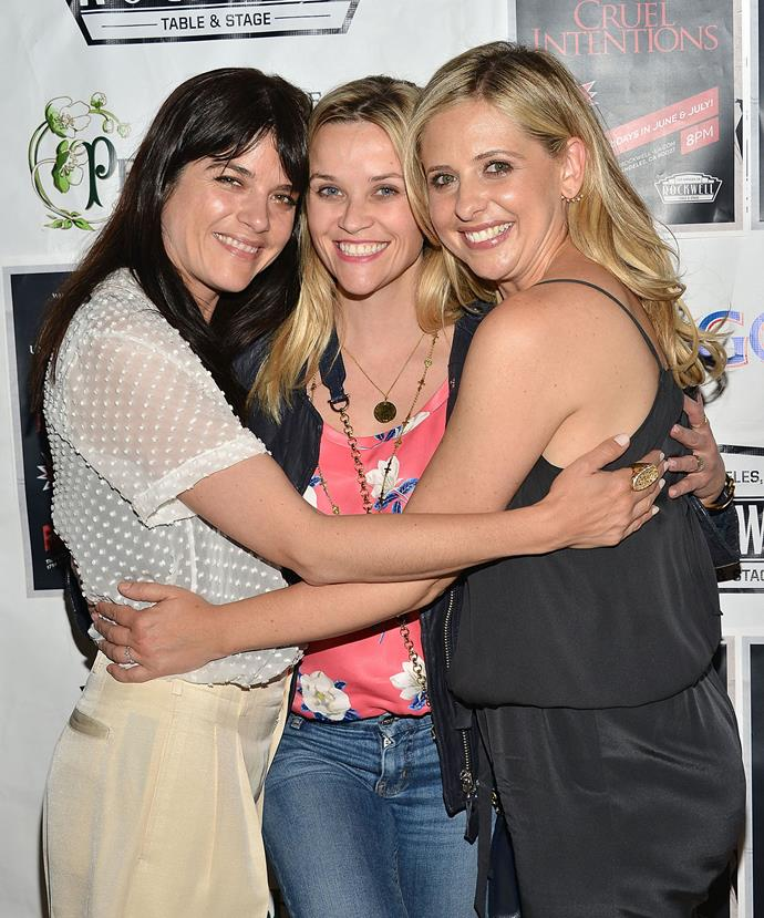 The original stars Selma Blair, Reese Witherspoon and Sarah Michelle Gellar had the sweetest reunion earlier this year.
