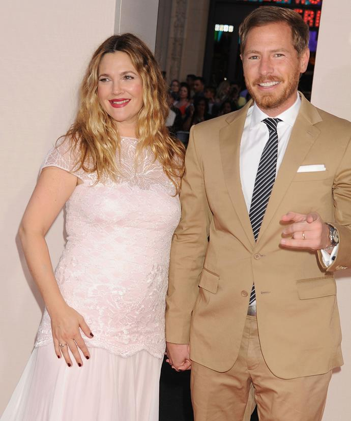 Drew Barrymore and her husband Will Kopelman.