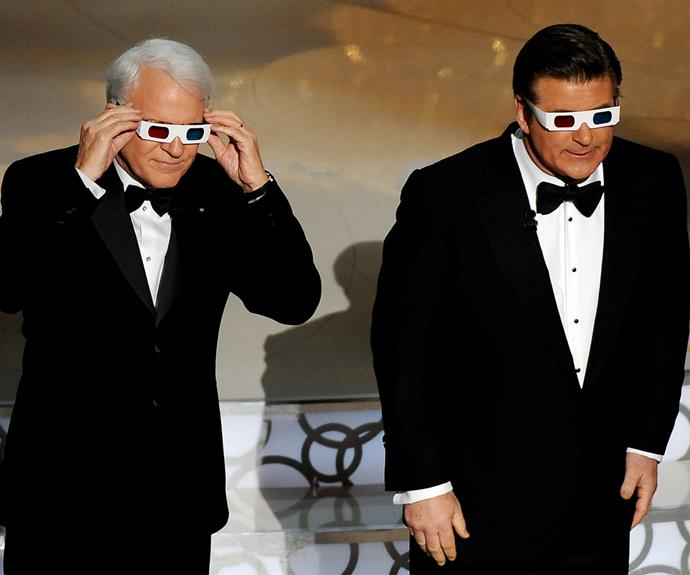 Steve Martin and Alec Baldwin got the crowd going in 2010!